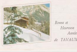 39 Tavaux / Carte De Voeux. - Nouvel An