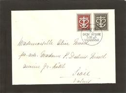 Journée Du Don Suisse 3.III.1945 Lausanne - Suisse