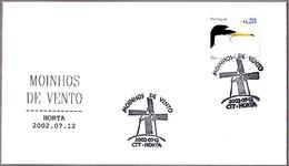 MOLINOS DE VIENTO - WINDMILLS - MOINHOS DE VENTO. Horta, Portugal, 2002 - Molinos