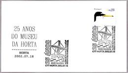 MOLINO DE VIENTO - WINDMILL - MOINHO DE VENTO. 25 Años Museo. Horta, Portugal, 2002 - Molinos