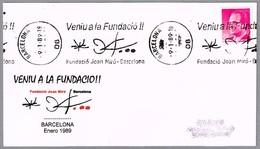 Fundacion JOAN MIRO. Barcelona 1989 - Arte