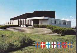 Iceland PPC Nordens Hus Såolarfilma No. 52 (2 Scans) - Islande