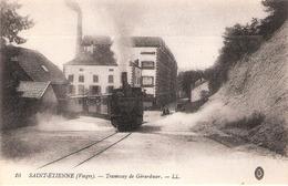 Saint-Étienne-lès-Remiremont (88 - Vosges)  Le Tramway De Gérardmer - Saint Etienne De Remiremont
