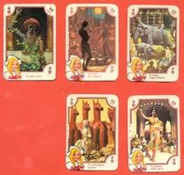 Figurine MIRA LANZA - Trading Cards- Gift Cards --lotto Di 5 Pezzi - Pubblicitari