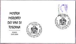 MERCADO DE VINOS DE LA TOSCANA - MARKET WINES OF TUSCANY. Poppy, Arezzo, 2004 - Vinos Y Alcoholes