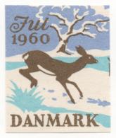 Denmark 1960, Julemaerke, Christmas Stamp, Vignet, Poster Stamp - Denemarken