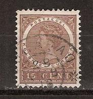Nederlandse Antillen Curacao 37 Used ; Queen Koningin Reine Reina Wilhelmina 1903 - Curaçao, Nederlandse Antillen, Aruba