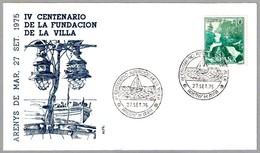 IV CENTENARIO FUNDACION DE LA VILLA. Areys De Mar, Barcelona, 1975 - Historia