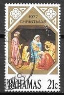 1977 21 Cents Christmas, Used - Bahamas (1973-...)
