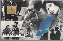 Telecarte 50 - Téléphone Le Fil De La Vie - Telephones
