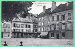 16 - PONTOISE - PLACE DU PONT - Pontoise