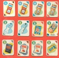 Figurine MIRA LANZA - Trading Cards- Gift Cards --lotto Di 12 Pezzi Differenti - Pubblicitari