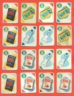 Figurine MIRA LANZA - Trading Cards- Gift Cards --lotto Di 16 Pezzi Differenti - Pubblicitari