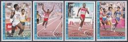 Elfenbeinküste Ivory Coast Cote D'Ivoire 1984 Sport Spiele Olympia Olympics Medaillen Medals, Mi. 838-1 ** - Côte D'Ivoire (1960-...)