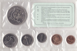 Fiji Set 6 Coins 1969 - Figi