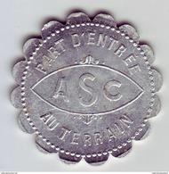 Monnaie De Nécessité - 11 - Carcassonne - ASC - Association Sportive De Carcassonne - 10c - - Monetary / Of Necessity
