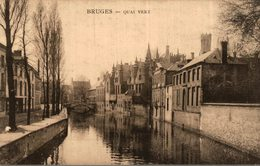 BELGIQUE BRUGES  QUAI VERT - Brugge