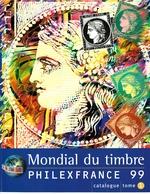 Lit1.  Mondial Du Timbre Philexfrance 1999 Tome 1+2 Catalogue De L'expo - Philatelic Exhibitions