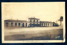 Cpa Du 22 Guingamp La Gare    YN47 - Guingamp