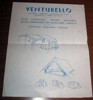 VENTURELLO CAMPEGGIO HUTCHINSON TORINO NICHELINO VINTAGE - Camping