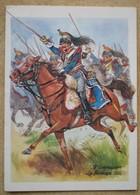 1 Carte Double 5 è CUIRASSIER LA MOSKOWA 1812          Créations CHOTEL PARIS - Regiments