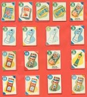 Figurine MIRA LANZA - Trading Cards- Gift Cards --lotto Di 17 Pezzi Differenti - Pubblicitari