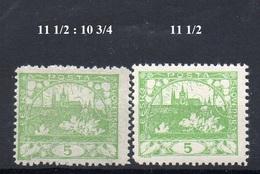 CZECHOSLOVAKIA  1918+ , MNH  ,  HRADCANY 5H - Tchécoslovaquie