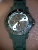 Montre Femme Bracelet Plastique Turquoise Watch - Montres Modernes