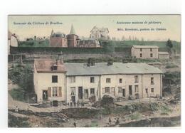 Bouillon   Souvenir Du Château De Bouillon - Anciennes Maisons Des Pêcheurs Edit.Stroobants,gardien Du Château   1908 - Bouillon