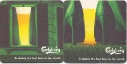 #D120-123 Viltje Carlsberg - Sous-bocks