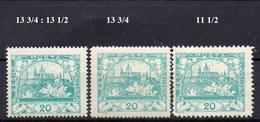 CZECHOSLOVAKIA  1918+ , MNH  ,  HRADCANY 20H - Tchécoslovaquie