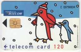 PORTUGAL A-414 Chip Telecom - Cartoon, Animal, Penguin, Occasion, Christmas - Used - Portugal