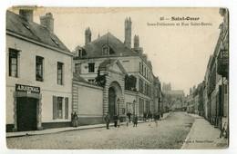 CPA 62 SAINT-OMER - La Sous-Préfecture Et La Rue SAINT-BERTIN - Saint Omer