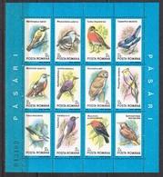 Rumänien; 1991; Michel Block 266 **, Birds / Vögel / Pasari - 1948-.... Republics