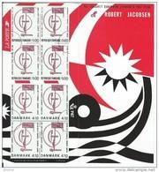 """FR Emissions Communes YT P2551 """" Danemark """" 1988 Neuf** - Sheetlets"""
