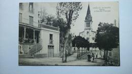 Carte Postale (K9 ) Ancienne De Amélie Les Bains , église Et Rue Des Thermes - Otros Municipios