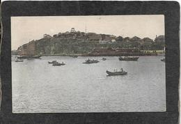 China-Spectacular View Of Chefoo Harbor 1910s - Antique Postcard - Cina
