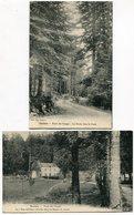 """QUILLAN  - 2 Cartes  """"Forêt Des Fanges"""" - Voir Scan - Autres Communes"""