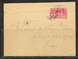 LOT 1901030 - N° 184 SUR LETTRE DE SENS DU 16/07/24 POUR JOIGNY - Marcophilie (Lettres)
