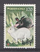 Corée Du Sud 1998 Mi. Nr: 2006 Jahr Des Hasen  Neuf Sans Charniere / MNH / Postfris - Corée Du Sud