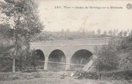 Thuin.  Viaduc De L'Ermitage Sur La Biesmelle.---scan-- - Thuin