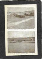 Chefoo,China-The Beach And The Taku Forts,PeiHo River 1907 - Antique Postcard - Cina