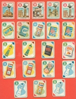 Figurine MIRA LANZA - Trading Cards- Gift Cards --lotto Di 21 Pezzi Differenti - Pubblicitari