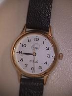 Montre Unisexe Erlanger 17 Rubis Bracelet Cuir Noir N° Série KI937 / P - Watches: Modern