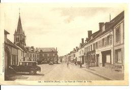 27 - BOURTH / PLACE DE L'HOTEL DE VILLE - France