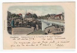 Charleroi.Embranchement De La Sambre Et Du Canal Du Centre 1902  E.Veeck,Bruxelles - Charleroi