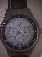 Montre Homme  Laguiole Atlas For Man, Métal Bracelet Cuir Marron - Watches: Modern