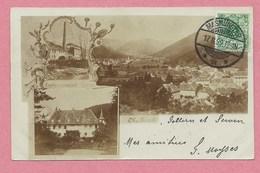 68 - OBERBRUCK - Vallée De MASEVAUX - Carte Photo - Vue Générale - Etablissement Et Maison ZELLER - Zonder Classificatie