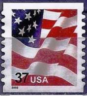 United States 2002 - American Flag ( Mi 3595 IBC - YT 3332c ) Perf. 9¾ - MNG - Etats-Unis
