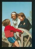 Ed. Lux-Color Nº 548. Dep. Legal B. 516-V. Escrita. - Niños
